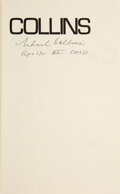 Explorers:Space Exploration, Michael Collins Signed Book: Carrying the Fi...