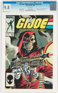 Modern Age (1980-Present):War, G. I. Joe, A Real American Hero #43 (Marvel, 1986) CGC NM/MT 9.8 White pages....