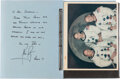 Explorers:Space Exploration, Neil Armstrong Personal Autograph Letter Signed to USS