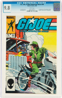 G. I. Joe, A Real American Hero #44 (Marvel, 1986) CGC NM/MT 9.8 White pages