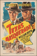 Movie Posters:Western, Texas Masquerade (United Artists, 1944). Fine/Very Fine- o...