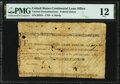 Colonial Notes:Continental Congress Issues, Continental Congress Federal Indent September 27 1785 $1 and 8/90th's PMG Fine 12.. ...