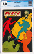 Golden Age (1938-1955):Crime, Punch Comics #11 (Chesler, 1944) CGC FN 6.0 White pages....