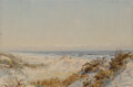 Works on Paper, William Trost Richards (American, 1833-1905). Dunes Near Atlantic City and Crashing Waves (two works), circa 1895. W... (Total: 2 Items)
