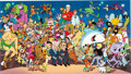 """Animation Art:Limited Edition Cel, """"All Together Now"""" Multi-Character Limited Edition Cel Sig..."""