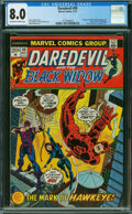 Bronze Age (1970-1979):Superhero, Daredevil #99 (Marvel, 1973) CGC VF 8.0 OFF-WHITE TO WHITE pages.