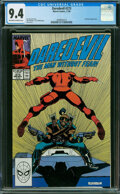 Modern Age (1980-Present):Superhero, Daredevil #273 (Marvel, 1989) CGC NM 9.4 Off-white to white pages.