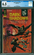 Bronze Age (1970-1979):Horror, Dark Shadows #15 (Gold Key, 1972) CGC FN+ 6.5 OFF-WHITE TO WHITE pages.