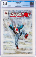 Modern Age (1980-Present):Superhero, Bloodshot #6 (Valiant, 1993) CGC NM/MT 9.8 White pages....
