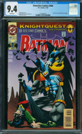 Modern Age (1980-Present):Superhero, Detective Comics #668 (DC, 1993) CGC NM 9.4 White pages.