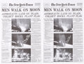 Explorers:Space Exploration, Buzz Aldrin Signed New York Times