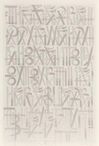RETNA (b. 1979) These Are the Days, 2011 Screenprint in colors on wove paper 60 x 40 inches (152