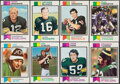 Football Cards:Sets, 1973 Topps Football Complete Set (528) Plus Checklists (25). ...