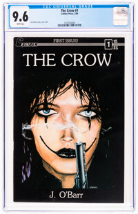 The Crow #1 (Caliber Press, 1989) CGC NM+ 9.6 White pages