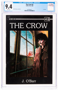 The Crow #4 (Caliber Press, 1989) CGC NM 9.4 White pages