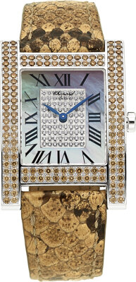Chopard Lady's Diamond, White Gold Watch