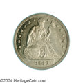 Proof Seated Dollars: , 1849 $1 PR58 PCGS. It has been several years since we ...