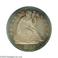 Proof Seated Dollars: , 1855 $1 PR64 PCGS. The proof 1855 Seated Dollar is ...