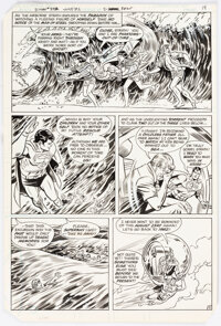 Curt Swan and Frank Chiaramonte Superman #372 Story Page 11 Original Art (DC, 1982)