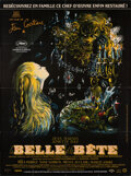 "Movie Posters:Fantasy, La Belle et la Bete (Groupe M6, R-2013). Folded, Very Fine+. French Grande (46.25"" X 63"") Jean-Denis Malclès Artwork. Fantas..."