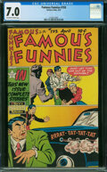 Golden Age (1938-1955):Humor, Famous Funnies #193 (Eastern Color, 1951) CGC FN/VF 7.0 OFF-WHITE TO WHITE pages.