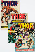 Silver Age (1956-1969):Superhero, Thor Group of 19 (Marvel, 1966-68) Condition: Average FN+.... (Total: 19 Comic Books)