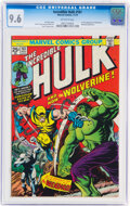 Bronze Age (1970-1979):Superhero, The Incredible Hulk #181 (Marvel, 1974) CGC NM+ 9.6 Off-white pages....