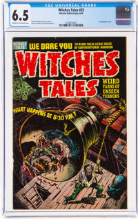 Witches Tales #25 (Harvey, 1954) CGC FN+ 6.5 Cream to off-white pages
