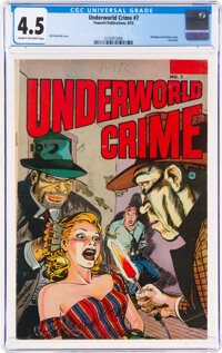 Underworld Crime #7 (Fawcett Publications, 1953) CGC VG+ 4.5 Cream to off-white pages