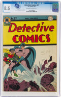 Golden Age (1938-1955):Superhero, Detective Comics #97 (DC, 1945) CGC VF+ 8.5 Off-white to white pages....