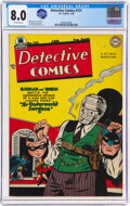 Golden Age (1938-1955):Superhero, Detective Comics #131 (DC, 1948) CGC VF 8.0 Off-white pages....