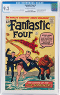Silver Age (1956-1969):Superhero, Fantastic Four #4 (Marvel, 1962) CGC NM- 9.2 Off-white to white pages....
