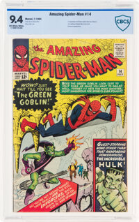 The Amazing Spider-Man #14 (Marvel, 1964) CBCS NM 9.4 Off-white to white pages