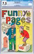 Golden Age (1938-1955):Miscellaneous, Funny Pages #10 (Comics Magazine Co., 1937) CGC VF- 7.5 Off-white pages....