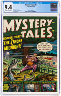 Golden Age (1938-1955):Horror, Mystery Tales #1 (Atlas, 1952) CGC NM 9.4 Off-white to white pages....