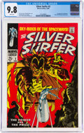 Silver Age (1956-1969):Superhero, The Silver Surfer #3 (Marvel, 1968) CGC NM/MT 9.8 White pages....