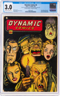 Dynamic Comics #8 (Chesler, 1944) CGC GD/VG 3.0 Off-white to white pages