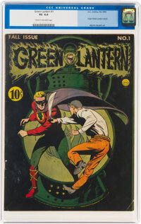 Green Lantern #1 (DC, 1941) CGC VG 4.0 Cream to off-white pages