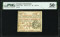 """Colonial Notes:Georgia, Georgia June 8, 1777 $8 Red """"in"""" Fr. GA-110a PMG About Uncirculated 50 EPQ.. ..."""