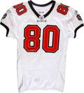 Football Collectibles:Uniforms, 2005 Michael Clayton Game Worn, Unwashed and Signed Tampa ...