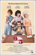 "Movie Posters:Comedy, Nine to Five (20th Century Fox, 1980). Folded, Very Fine. One Sheet (27"" X 41""). Comedy.. ..."