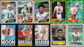 Football Cards:Sets, 1983-90 Fleer, Score Supplemental and Topps Football Set Collection (7)....