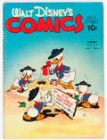 Golden Age (1938-1955):Cartoon Character, Walt Disney's Comics and Stories #11 (Dell, 1941) Condition: VG....