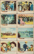 """Movie Posters:Western, The Alamo (United Artists, 1960/R-1967). Overall: Very Fine-. Lobby Card Set of 8 (11"""" X 14"""") & Photos (7) (8"""" X 10""""). Weste... (Total: 15 Items)"""