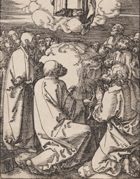 Albrecht Dürer (German, 1471-1528) The Ascension, from The Small Passion, circa 1508-10 W