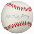 Autographs:Baseballs, Bill Terry Single Signed Baseball. Offered is the ...