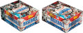 Baseball Cards:Unopened Packs/Display Boxes, 1981 Topps Baseball Wax Box Pair (2) - Each With 36 Unopened Packs. ...