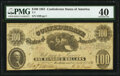 T7 $100 1861 PF-4 Cr. 11 PMG Extremely Fine 40