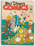 Golden Age (1938-1955):Cartoon Character, Walt Disney's Comics and Stories #14 (Dell, 1941) Condition: GD+....