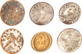 Military & Patriotic:Pre-Civil War, War of 1812: Assorted Infantry Buttons. Seven ...